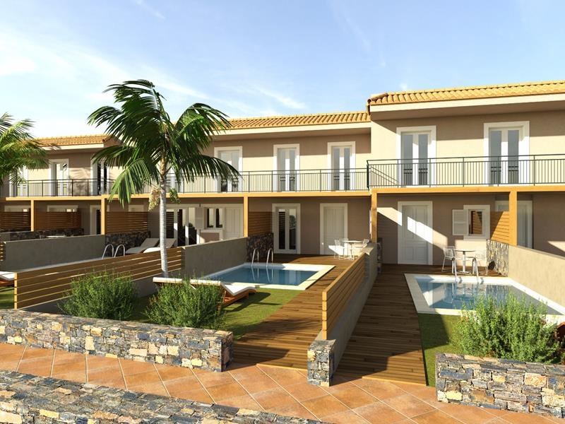 Apartments with private pool (NEW)